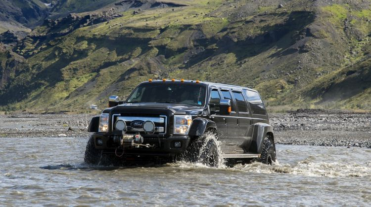 Thorsmork/Valley of Thor Super Jeep Tour