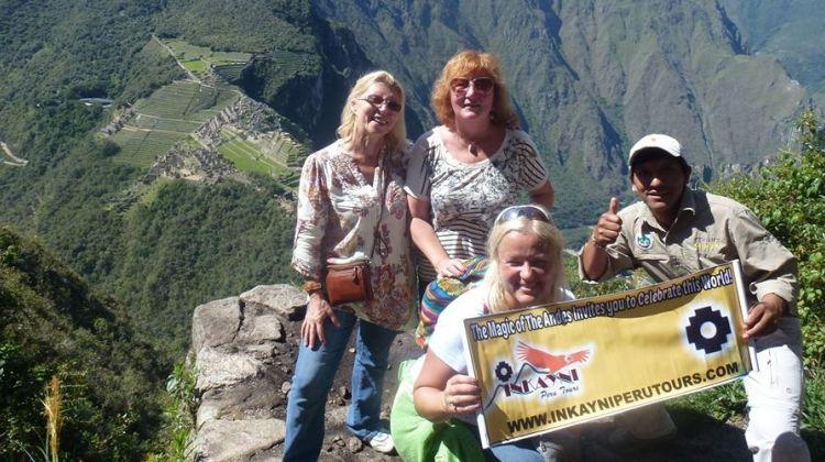 Trek along  Salkantay to Machu Picchu