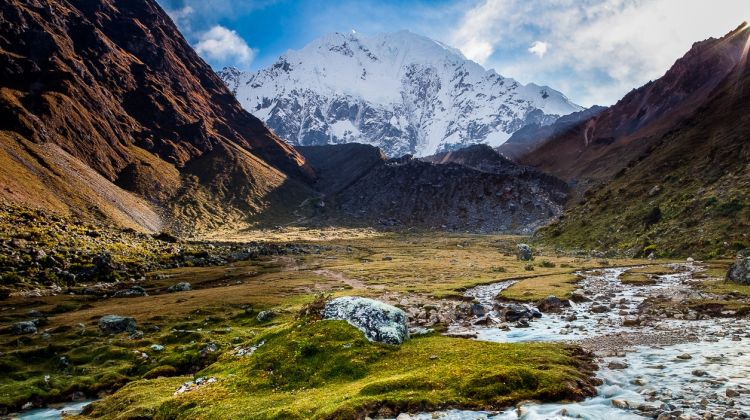 Trek along the salkantay - Machu Picchu