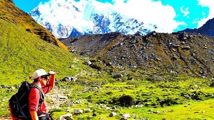 Trek along the salkantay - Machu Picchu