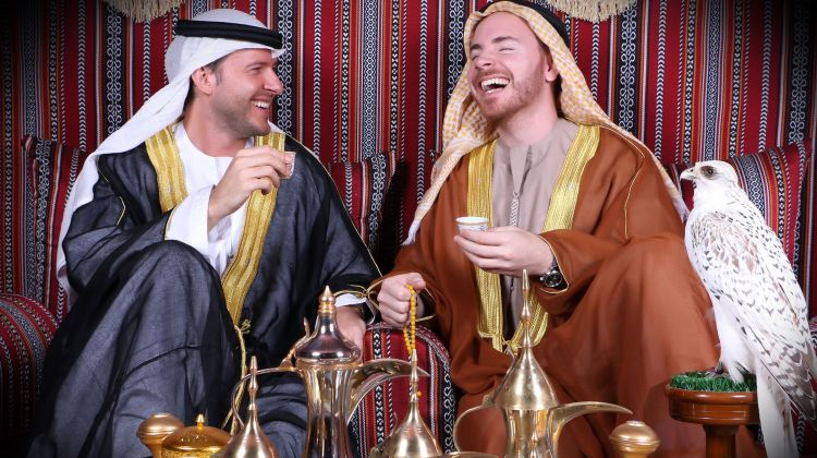 UAE Costume Photography Experience & Central Market tour
