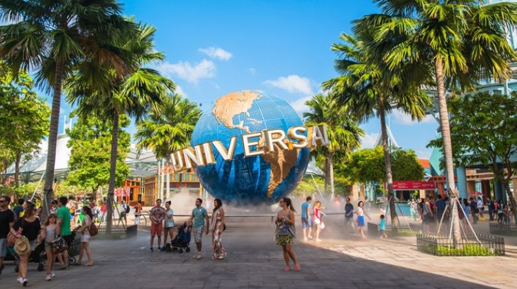 Universal Studios Singapore Tour + 2 ways shuttle