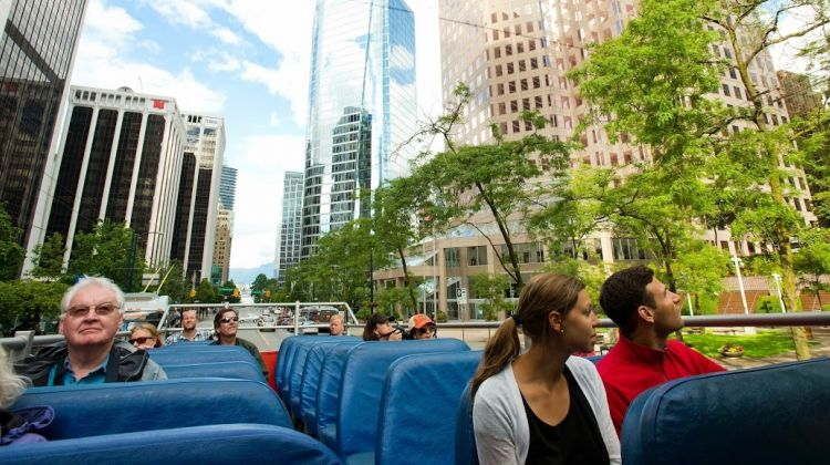 Vancouver Hop-On and Hop-Off Sightseeing Pass