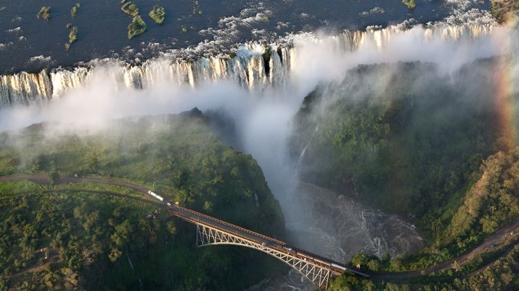Victoria Falls to Cape Town - Camping