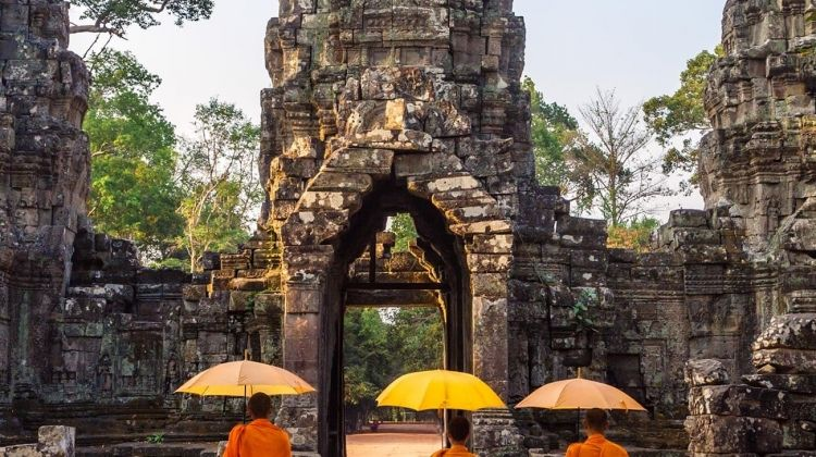 Vietnam and the Temples of Angkor