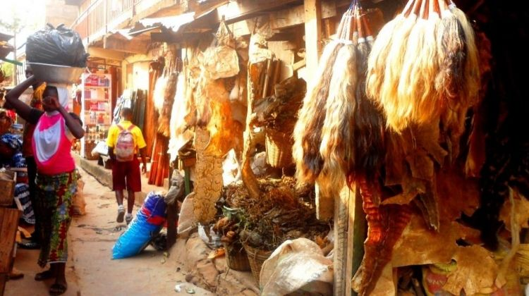 Visit the Markets of Accra