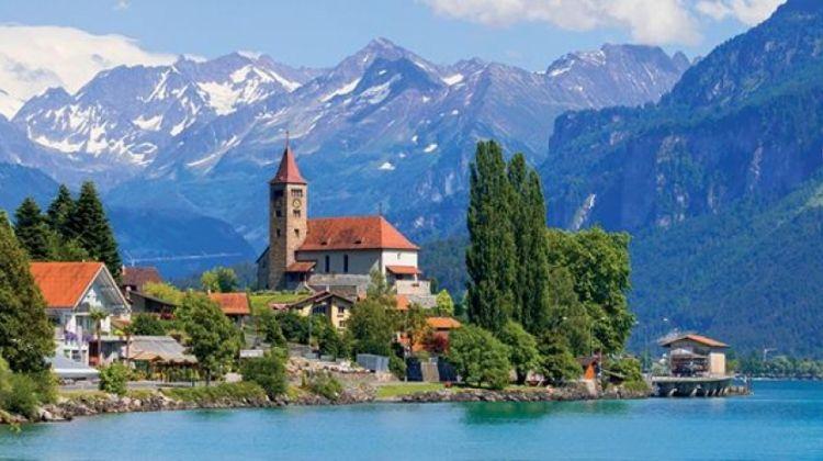 Vistas of Italy and Switzerland