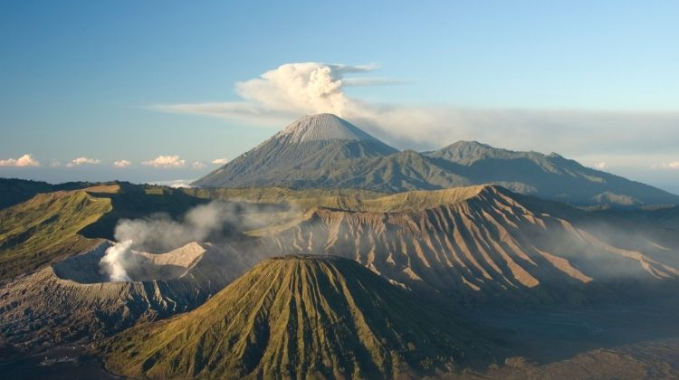 Volcanoes & Temples of Indonesia