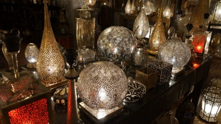 Walking and Shopping in the Marrakech Medina