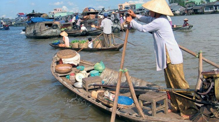 Walking in Vietnam + Cambodia Highlights