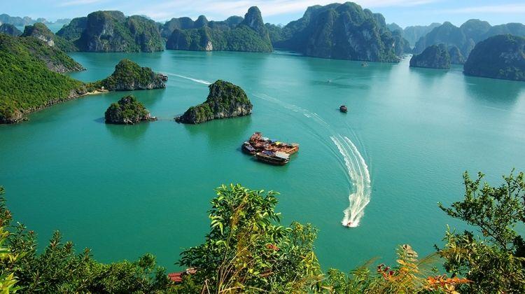Walking in Vietnam