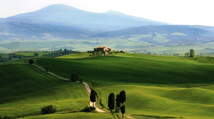 Walking the Val d'Orcia