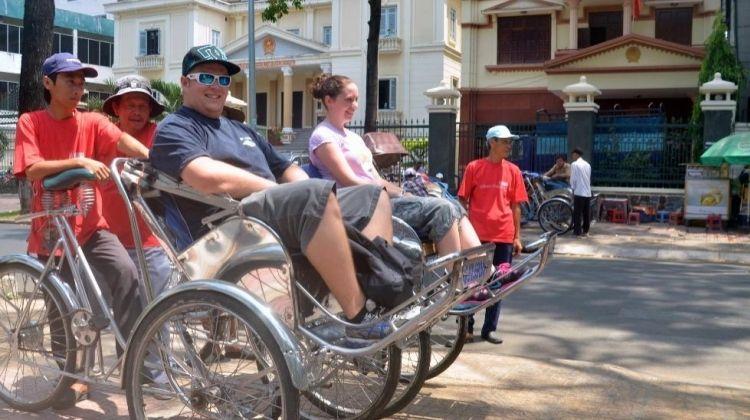 Wheels and Feet Across Ho Chi Minh City