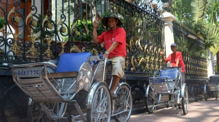 Wheels and Feet Across Ho Chi Minh City