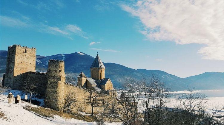 Winter in Kazbegi