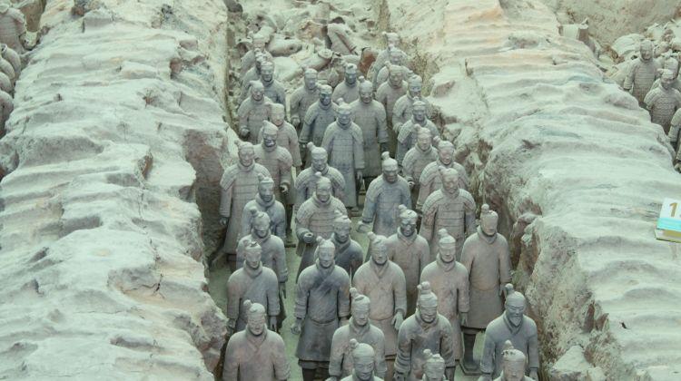 Xian Terracotta Warriors Group Tour