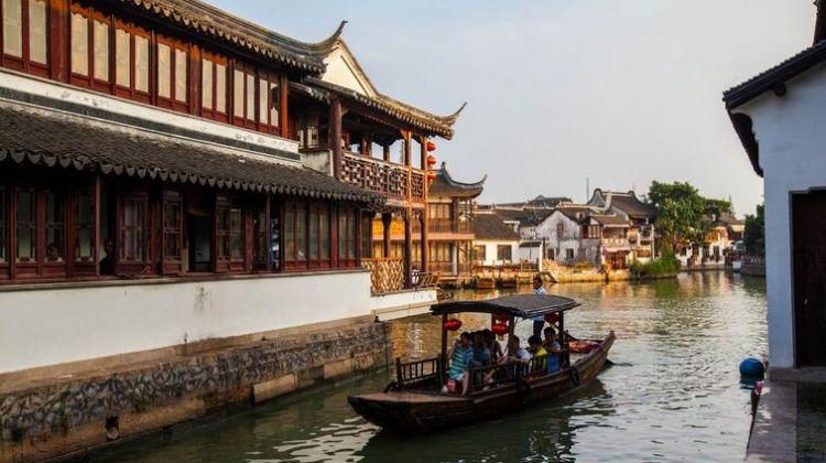 Zhujiajiao and Huangpu River Night Cruise