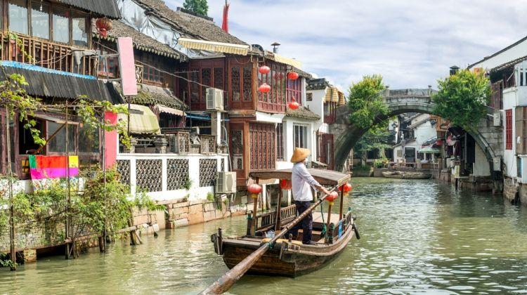 Zhujiajiao Water Village, Tianzifang and Tea Ceremony